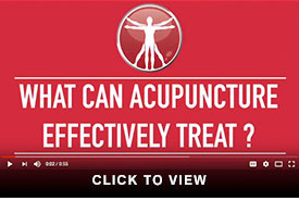 Acupuncture What Can It Treat