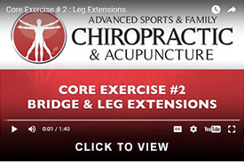 core two leg extensions